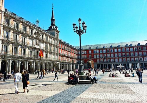 Spanyolország gyöngyszemei: Plaza Mayor, Madrid