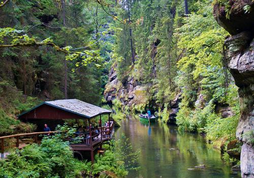 A Cseh Svájc Nemzeti Park és a Cseh Paradicsom