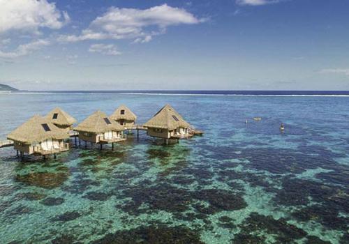 Szállások Francia Polinézián: Tahiti Ia Ora Beach Resort by Sofitel 4*