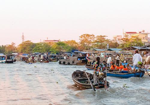 Felfedezni Vietnámot: Can Tho