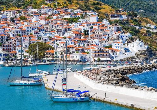 Bejárni a görög szigetvilágot: Szkopelosz