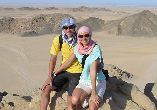 Nászút Egyiptomban