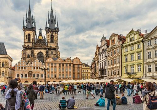 Visszaesett a csehországi turizmus a második negyedévben