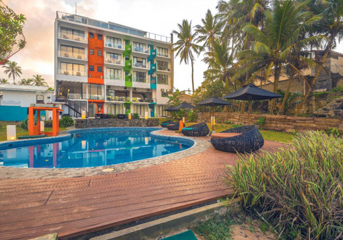 Szállások Srí Lankán: Hotel J***