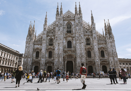 Látogatás Milánóban