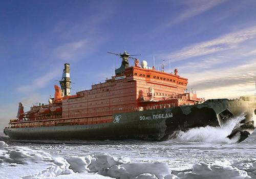Északi utak: atomjégtörővel az Északi-sarkra