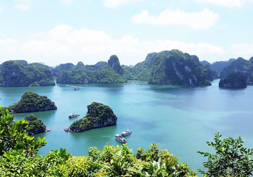 Felfedezni Vietnámot: a Halong-öböl