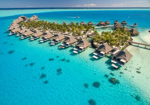 Szállások Francia Polinézián: Conrad Bora Bora Nui 5*