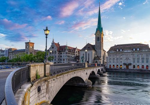 Svájc repülővel és vonattal
