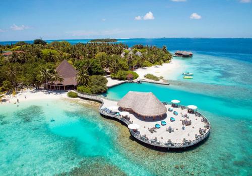 Maldív-szigetek: Bandos Island