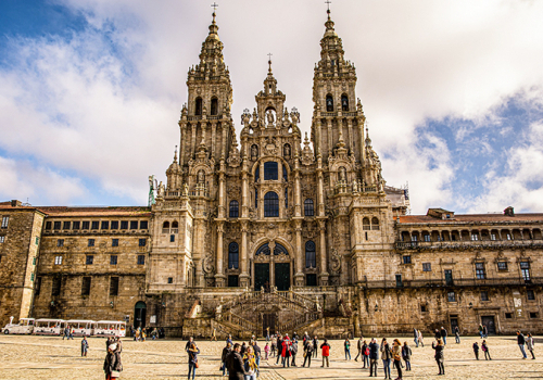 Spanyolország gyöngyszemei: Santiago de Compostela katedrális