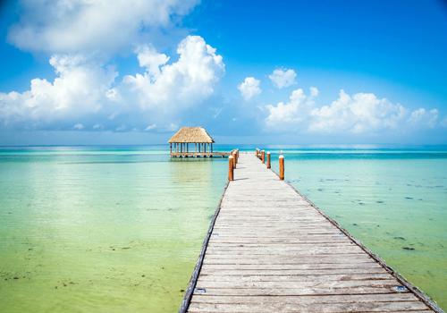 Napfényes szigetek: Holbox-sziget, Mexikó