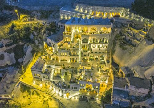 Különleges szállások: Cappadocia Cave Suite, Törökország