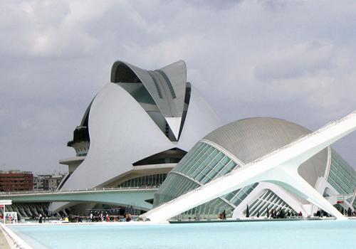 Spanyolország gyöngyszemei: Művészetek és Tudományok Városa, Valencia