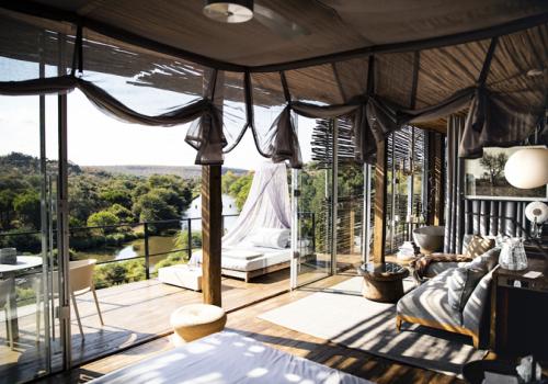 Különleges szállások: Lebombo Lodge, Dél-Afrika