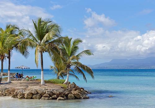 Napfényes szigetek: Guadeloupe-szigetek