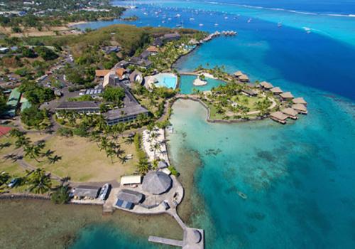 Szállások Francia Polinézián: InterContinental Tahiti Resort & Spa 4*