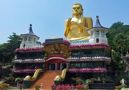 Srí Lanka kincsei: Dambulla templomai